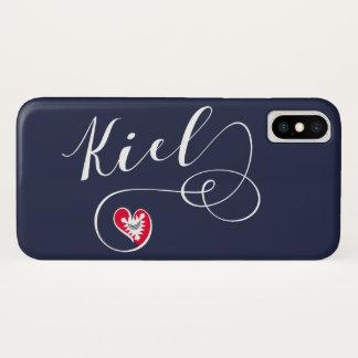 Heart Kiel Mobile Phone Case, Germany iPhone X Case