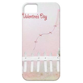 Heart Kite Flying, White Kitten, White Bird iPhone 5 Cover