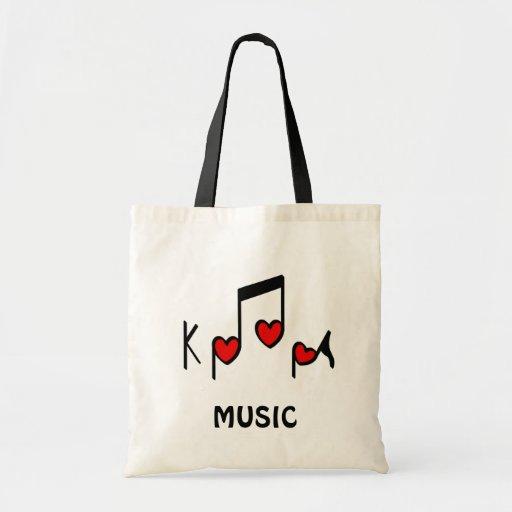 Heart Korean Pop music!  KPOP! Bag