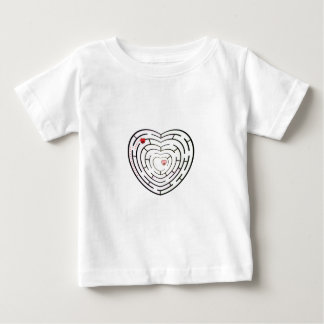 HEART LABYRINTH BABY T-Shirt