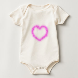 Heart Lightning Baby Bodysuit