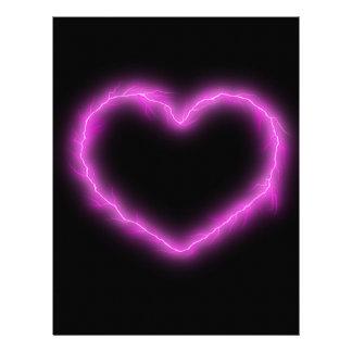 Heart Lightning Letterhead