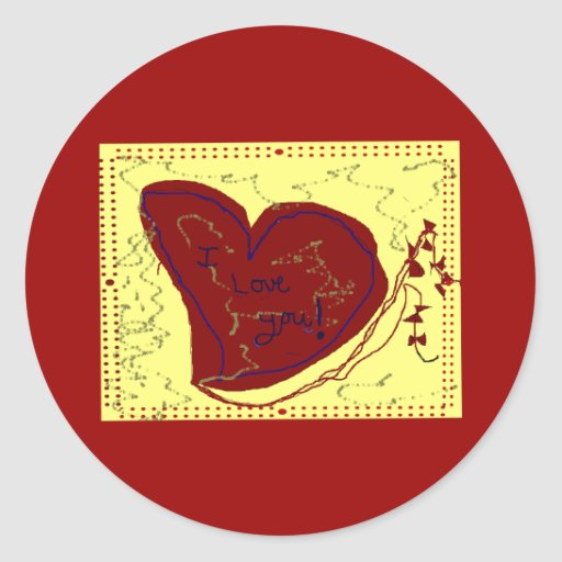 Heart Like a Kite Sticker