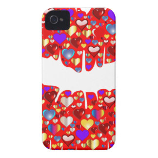 Heart Lips iPhone 4 Covers