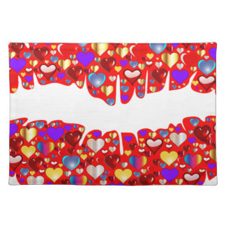 Heart Lips Placemat