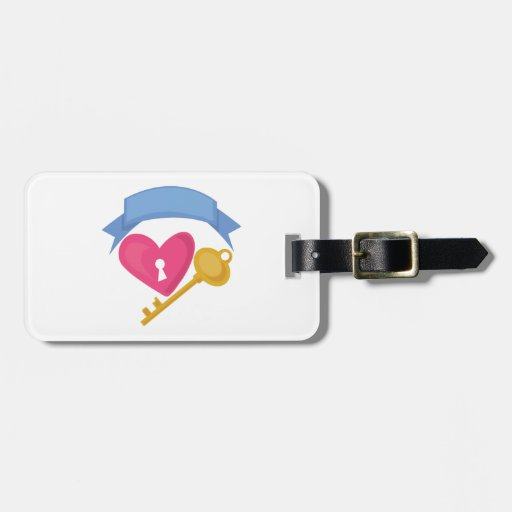 Heart Lock Tag For Bags