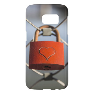 Heart lock Samsung Galaxy S7, Barely There Samsung Galaxy S7 Case