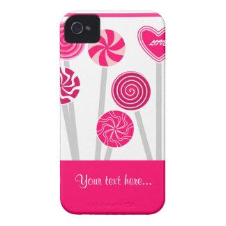 Heart Lollipops Design BlackBerry Bold Case