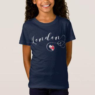 Heart London Tee Shirt, Britain, UK