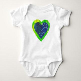 Heart Love Baby Bodysuit Infant Shirt