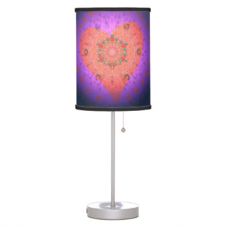 Heart Love Colorful Pattern Lamp
