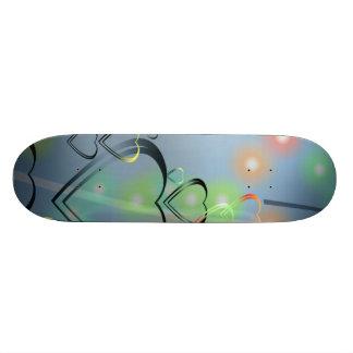 Heart Love Custom Skate Board