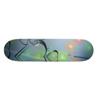 Heart Love Skateboard