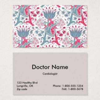 Heart/Lung Business Card Template