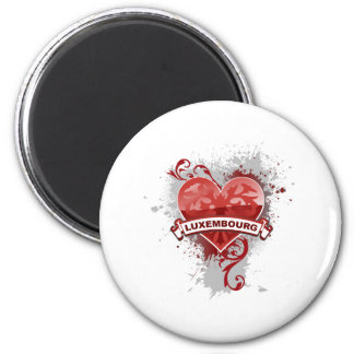 Heart Luxembourg Magnet