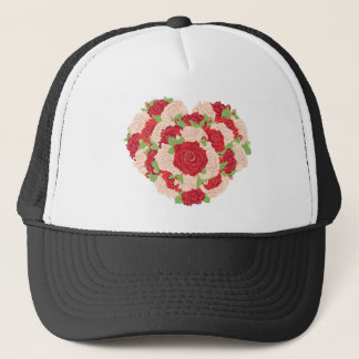 Heart Made of Roses3 Trucker Hat
