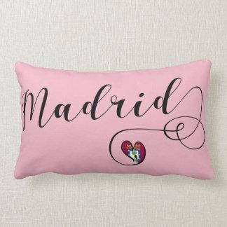 Heart Madrid Cushion, Spanish Lumbar Pillow
