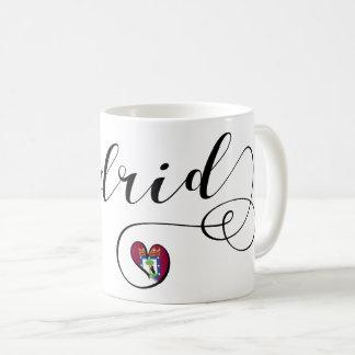 Heart Madrid Mug, Spain Coffee Mug