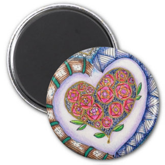 Heart Magnet, Original Art Magnet