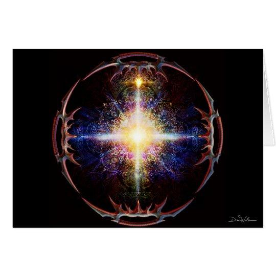 Heart Mandala Batleth 2013 Card