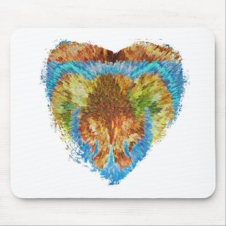 Heart Matters:  My Rainbow Heart Mouse Pad