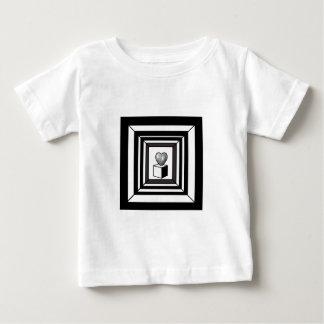 heart maze baby T-Shirt