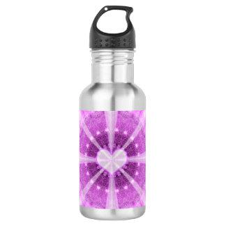 Heart Meditation Mandala 532 Ml Water Bottle