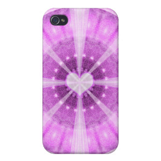 Heart Meditation Mandala Case For The iPhone 4