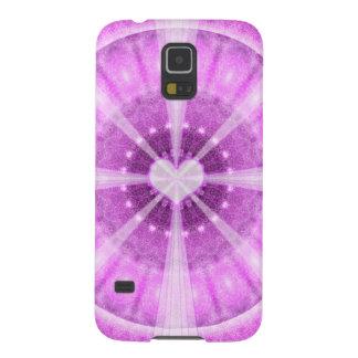 Heart Meditation Mandala Galaxy S5 Covers