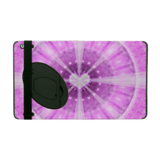 Heart Meditation Mandala iPad Case