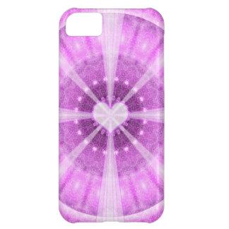 Heart Meditation Mandala iPhone 5C Cover