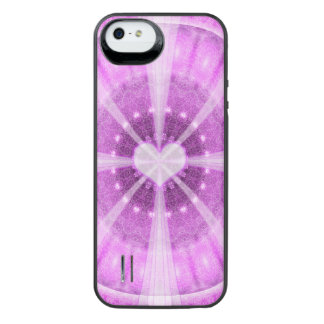 Heart Meditation Mandala iPhone SE/5/5s Battery Case