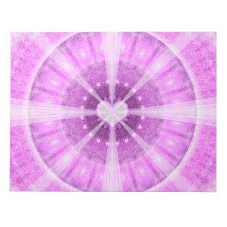 Heart Meditation Mandala Notepad