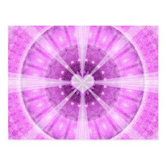 Heart Meditation Mandala Postcard