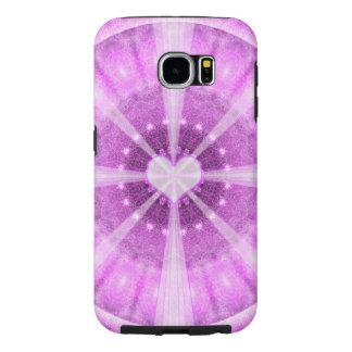 Heart Meditation Mandala Samsung Galaxy S6 Cases