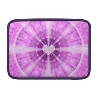 Heart Meditation Mandala Sleeve For MacBook Air