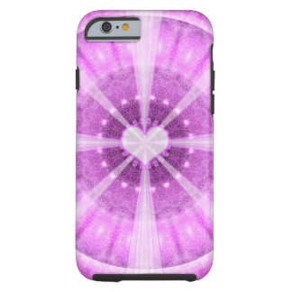Heart Meditation Mandala Tough iPhone 6 Case
