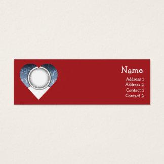 Heart Mini Business Card