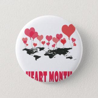 Heart Month - Appreciation Day 2 Inch Round Button