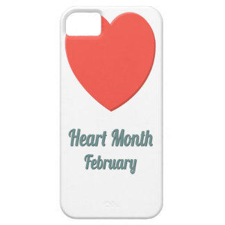 Heart Month - Appreciation Day iPhone 5 Cases