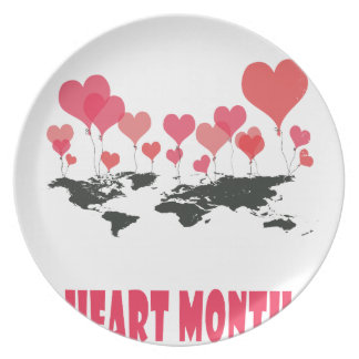Heart Month - Appreciation Day Plate