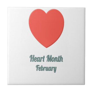 Heart Month - Appreciation Day Tiles