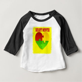 Heart Month - February - Appreciation Day Baby T-Shirt