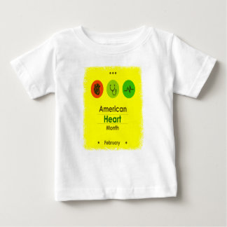Heart Month February - Appreciation Day Baby T-Shirt