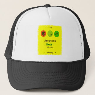 Heart Month February - Appreciation Day Trucker Hat