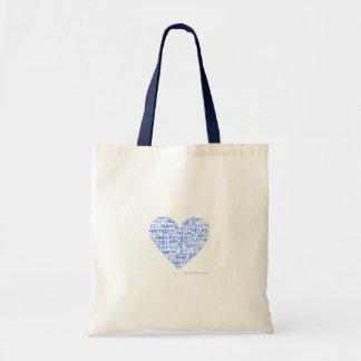 Heart Mosaic Tote Bag (profits go to Haiti)