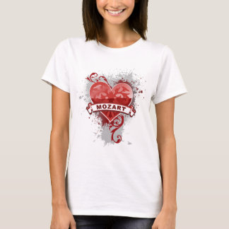 Heart Mozart T-Shirt