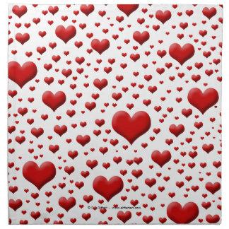 Heart Napkin