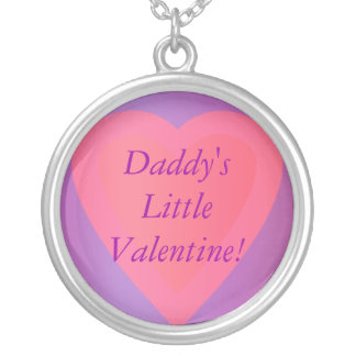 Heart Necklace Daddy's Little Valentine!