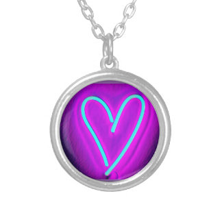 Heart necklace for her